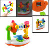 Colorful Plastic Windmill Shaped Music Toy Gift for Children
