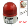 DC 24V Industrial Signal Tower Buzzer Sound Alarm Red LED Warning...