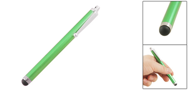 Green Metal Shell Capacitive Touch Screen Stylus Pen for iPhone iPad