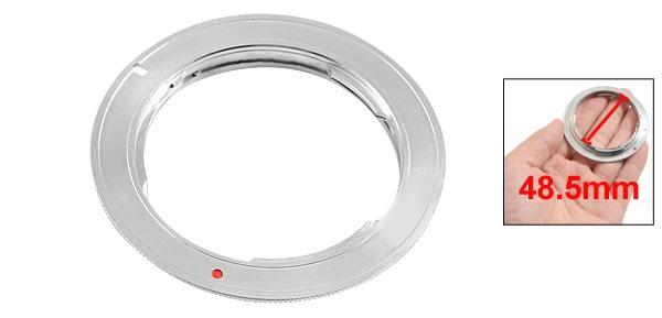 48.5mm Aluminum Alloy Ring Pentax PK Mount Adapter EOS 40D 50D