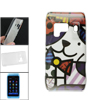 Multicolor Cat Printed IMD Shell Protecting Back Case for Nokia N...