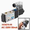 HC5210-08 AC 220V 50mA 2 Position 5 Way Pneumatic ...