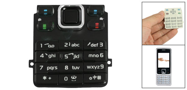 Mobile Phone Replacement Parts Keyboard Keypad for Nokia 6300