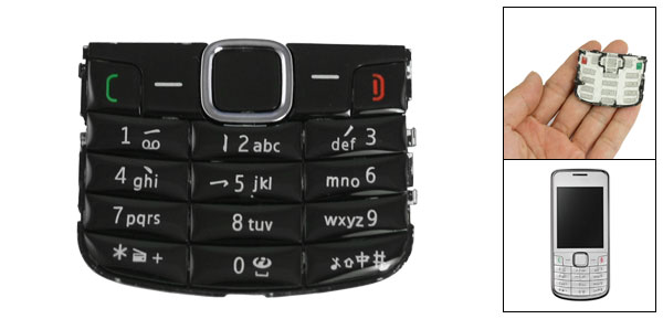 Plastic Repair Part Replacement Keypad Keyboard for Nokia 3208