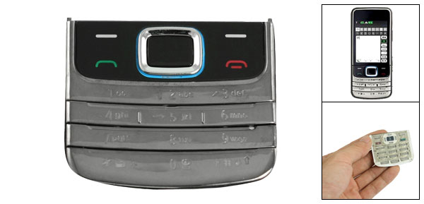 Mobile Phone Replacement Plastic Keyboard for Nokia 6208
