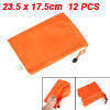 Dots Pattern Hand Strap Design A5 Paper Files Holder Bags Orange ...