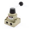 Pneumatic Air Flow Control Ball End Hand Lever Valve 1.0MPa 1/4 P...