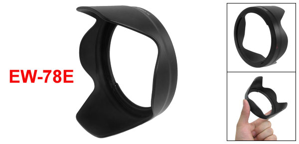 EW-78E Bayonet Mount Lens Hood for Canon EF-S 15-85mm f/3.5-5.6 IS USM