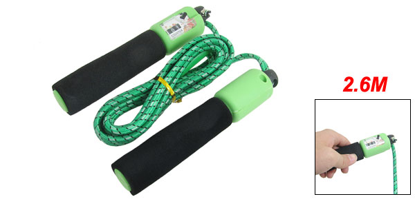 Resettable Counter Skip Skipping Jumping Rope Green White Black 102