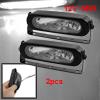 Auto Car DC 12V 55W White Light Bulb Fog Lamp Kit Pair w Bracket