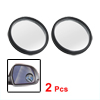 "2 Pcs 1.6"" Round Adhesive Side Rearview Blind Spot Mirror for Aut..."