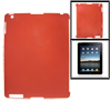 Red Anti-glare Hard Plastic Back Cover for The New iPad 2 3