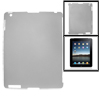 Gray Anti-glare Hard Plastic Back Cover for The New iPad 2 3