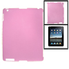 Pink Anti-glare Hard Back Shell Protector for Apple iPad 2 3
