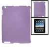 Clear Purple Anti-glare Hard Plastic Back Cover for The New iPad ...