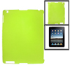 Anti-glare Clear Green Hard Plastic Back Cover for iPad 2 3