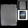 Clear White Anti-glare Hard Plastic Back Case for Apple iPad 2 3