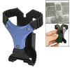 Car Auto Interior Rotating Cell Phone Holder Black Blue