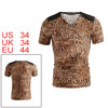 Mens Trendy Brown Coffee Leopard Printed...