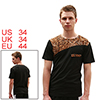 Mens Black NEW Fashion V Neck Summer Cas...