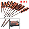 9 in 1 Assorted Size Phillips Slotted Screwdriver Set 6mm 5mm