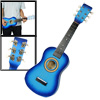 "Sky Blue Mini 6 Strings Wooden Acoustic Guitar Toy 23"" for Childr..."