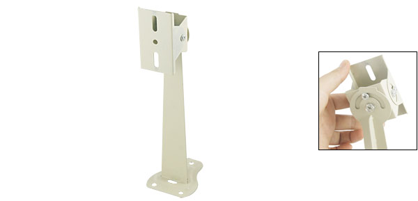 Wall Mount Stand Metal Bracket Stand for CCTV Camera 24.5cm Height