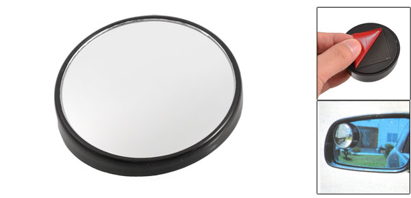 New 70mm Wide Angle Round Blind Spot Mirror Car Auto Side Rear View Universal