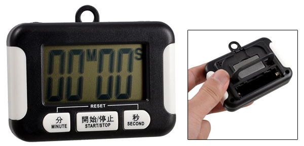 Kitchen Electronic Count Down Up LCD Digital Alarm Timer