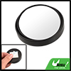 Car Vehicles Round Convex Rear View Blind Spot Mirror Black 2""