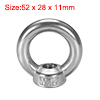 12mm Female Thread 304 Stainless Steel Lifting Eye Bolt Ring Hkepi