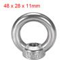 12mm Female Thread 304 Stainless Steel Lifting Eye Bolt Ring Hkepi