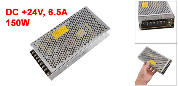 AC 110V/220V 24V 6.5A 150W Switching Power Supply Driver for LED Light