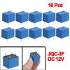 10 x DC 12V Coil 10A/125V AC 10A/28V DC 5 Pins SPST Power Relay J...