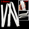 3 Meters 1 Ton White Polyester Three Layers Webbing Lifting Strap
