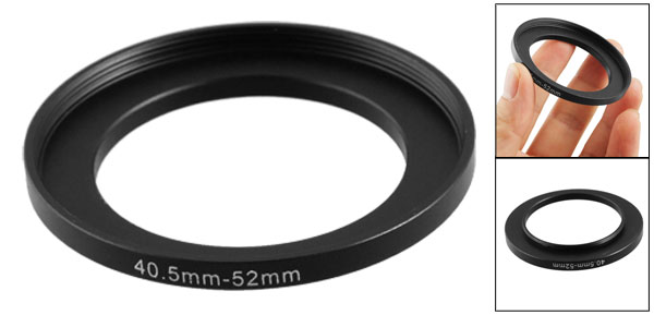 Replacement 40.5mm-52mm Camera Metal Filter Step Up Ring Adapter