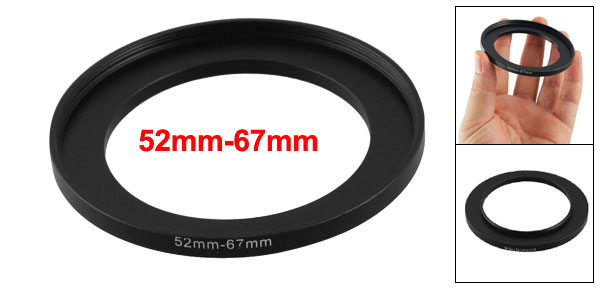 52mm-67mm Camera Replacement Lens Filter Step Up Ring Adapter New