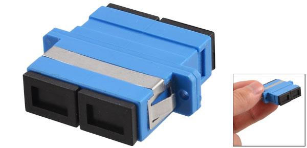 SC/SM Duplex Flange Fiber Optical Connector Adapter Coupler