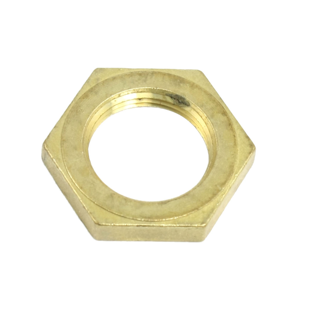 Washing-Machine-Parts-8-9-Dia-Thread-Brass-Hex-Head-Screw-Nut