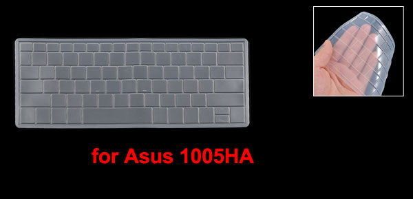 Clear Silicone Keyboard Protective Cover Film for Asus 1005HA