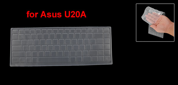 Clear Silicone Keyboard Protective Cover Film for Asus U20A