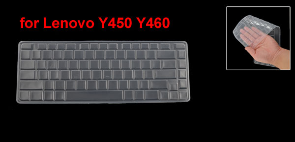 Clear White Silicone Keyboard Protective Cover Film for Lenovo Y450 Y460