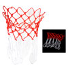 2 Pcs White Red Nylon Thread 12 Loop Basketball Replacement Net f...