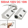 DC 100V 500mA Metal Door Magnetic Contact Switch Alarm for Home Security Systems