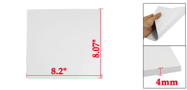 208mm x 205mm x 4mm Silicone Thermal Pad for CPU GPU Heatsink