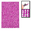 Mobile Phone Cellphone Fuchsia Rhinestones Jewelry Seal Stickers