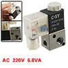 AC 220V 6.0VA 3V1-06 2 Position 3 Way Solenoid Pne...