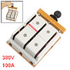 380V 100A 3 Pole Double Throw Electric Brake Safety Knife Switch