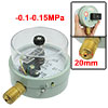 "AC 220/380V 10VA PT 1/2"" Electric Contact Pressure Vacuum Gauge -..."