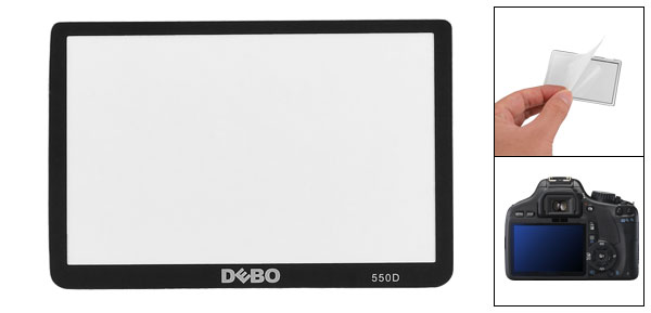 Anti Scratch Thin Glass Camera DC LCD Screen Protector for Canon EOS 550D